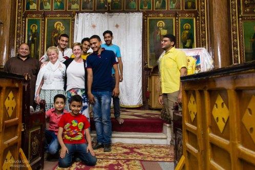 Koptische Kirche von innen